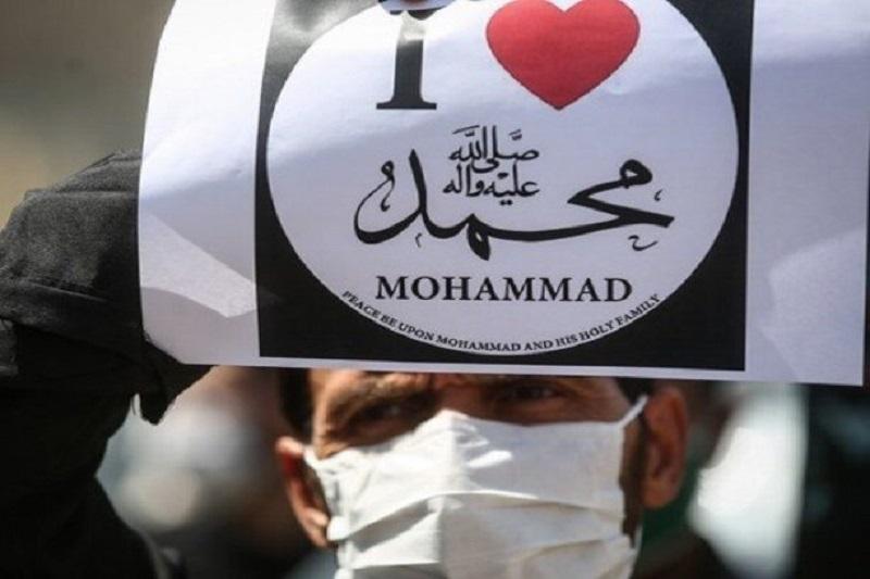 تجمع امروز  مردم کاشان، در محکومیت اهانت به پیامبر اکرم