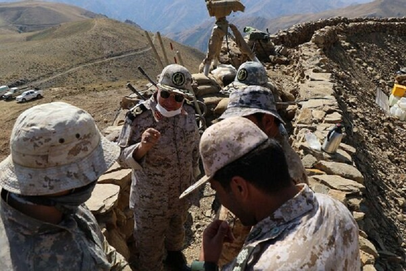 برخورد قاطعانه سپاه با ضدانقلاب