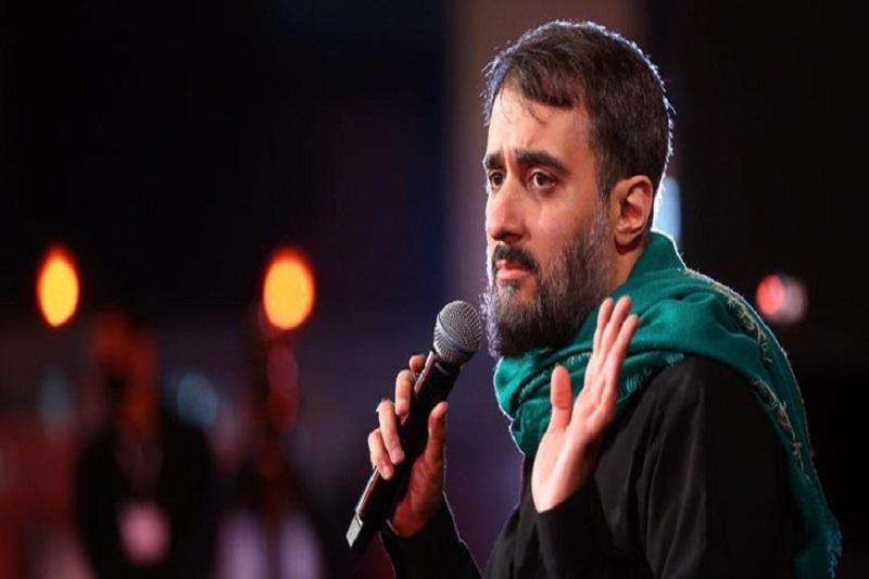 پویانفر در جمع جهادگران انقلابی میخواند