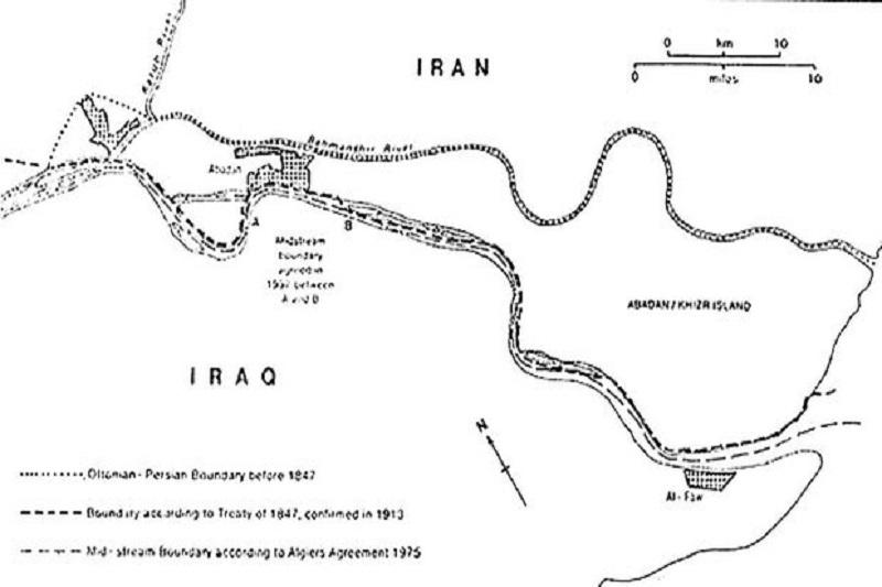 لغو یکجانبه قرارداد ۱۹۷۵ ایران و عراق توسط صدام
