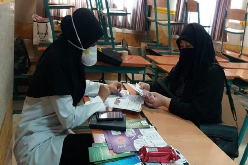 ارائه خدمات پزشکی رایگان جهادگران سلامت در اسلامشهر