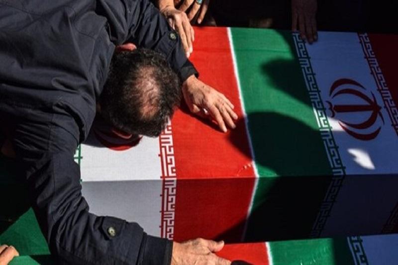 پیکر پاک دو شهید دفاع مقدس وارد شیراز شد