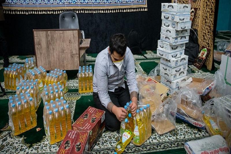 کمک مساجد تهران به ۱۲ هزار خانواده
