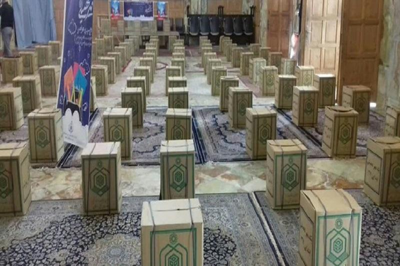 اهدای ۵۰۰ بسته لوازمالتحریر به دانش آموزان بیبضاعت گیلانی
