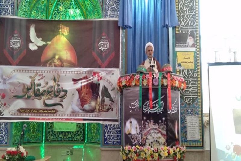 انتقاد امام جمعه از وضعیت یادمان شهدای شلمزار