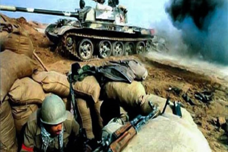 جنگ چهارده تن با «۱۵۰» تانک!