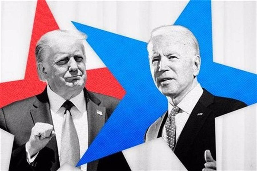 فیلم/اولین مناظره نامزدهای انتخابات ریاست جمهوری آمریکا و پیش بینی رهبر انقلاب