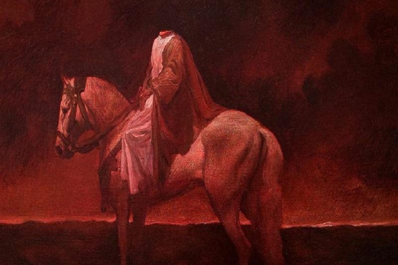نقاشیهای عاشورایی حسن روحالامین، از «ثارالله» تا «ویرانه شام»