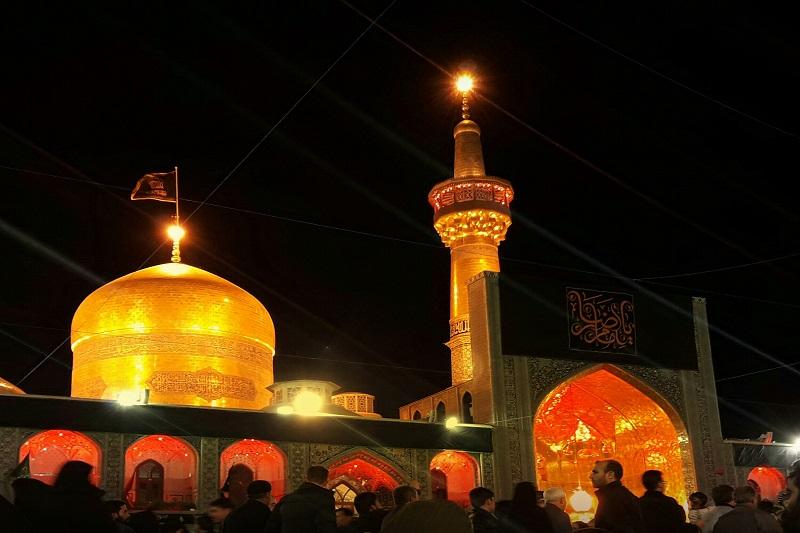 برنامه محوری آستان قدس در شب شهادت امام رضا (ع)
