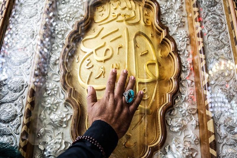 عکس/حرم امام علی(ع) در آستانه اربعین