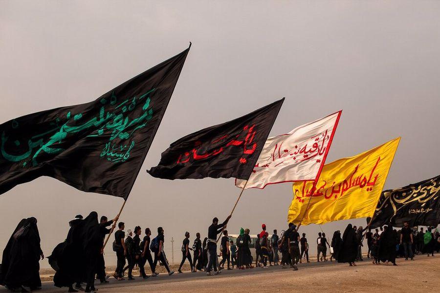 برگزاری مراسم پیاده روی «جاماندگان اربعین حسینی» در خرم آباد