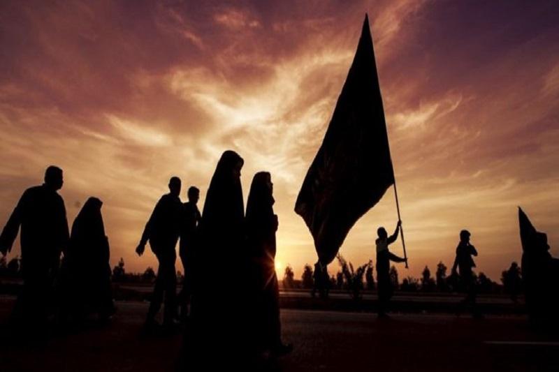 زیارت اربعین در ورامین برگزار شد