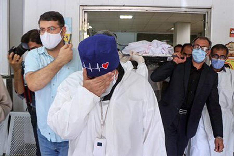 تشییع نخستین پزشک شهید مدافع سلامت خوزستان