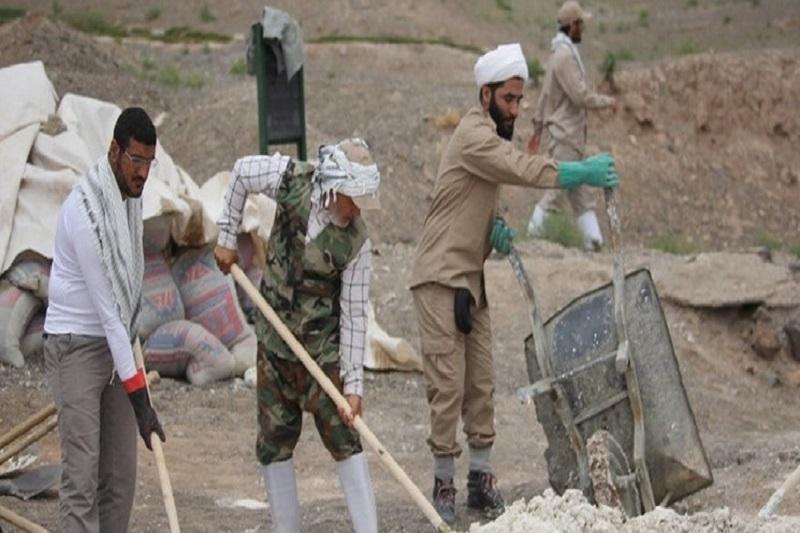 جمعه های جهادی با جهادگران روحانی مشهد