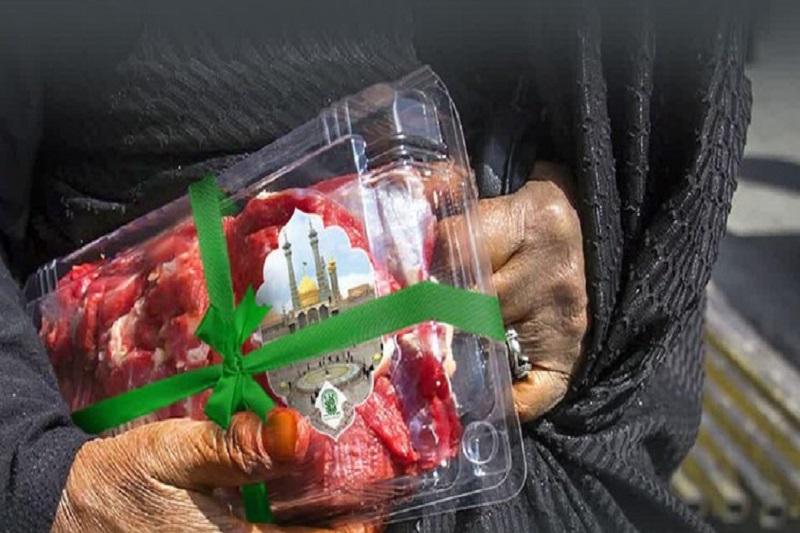 تهیه 50 هزار بسته گوشت، توسط مسجدی ها برای نیازمندان