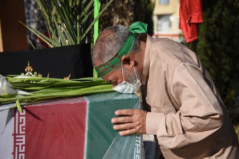 بازگشت پیکر مطهر شهید مسعود منتجبی بعد از ۳۸ سال به زنجان