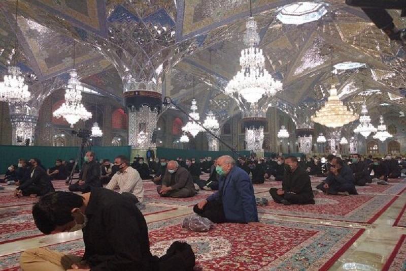 برگزاری مراسم شهادت امام رضا (ع) در ۳۰ بقعه البرز