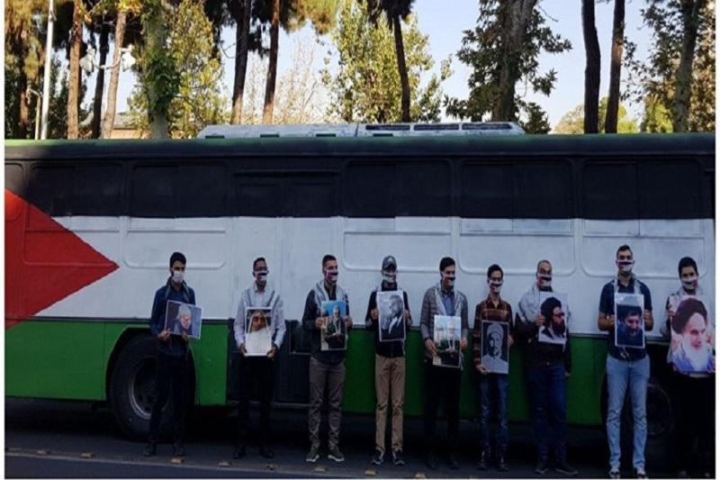 افتتاحیه کاروان دانشجویان ابراهیم(ع) در لانه جاسوسی
