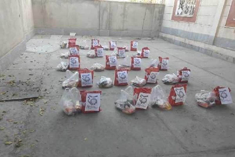 کمک به خانواده کارگران نیازمند، در کرمانشاه