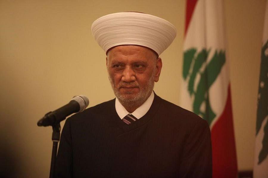 مفتی لبنان: آزادی بیان به معنای اهانت به عقاید دیگران نیست