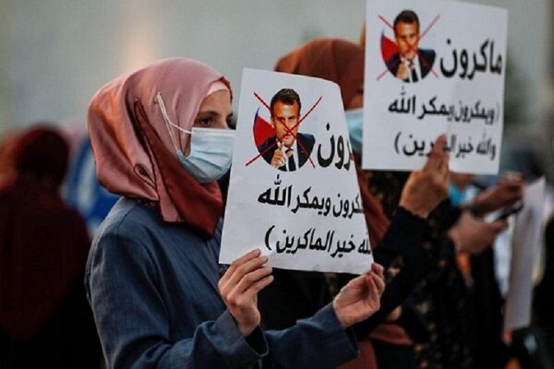 اعتراضات علیه فرانسه ادامه دارد