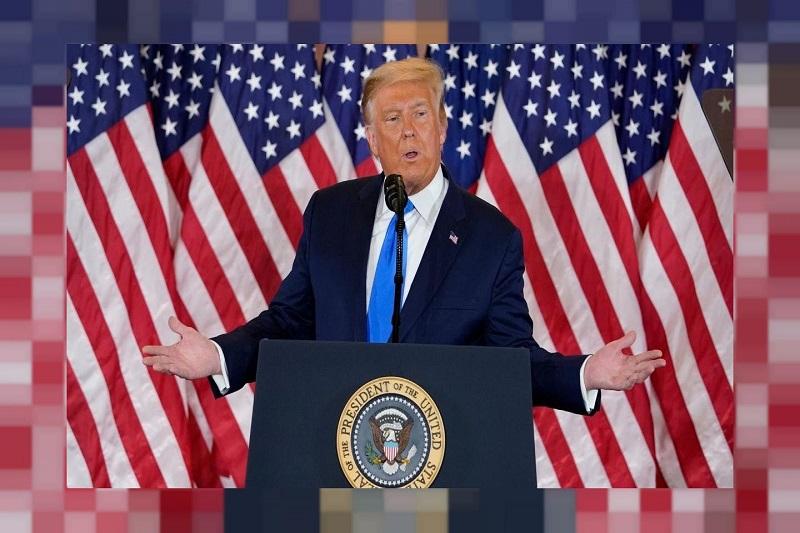 ویدئو/حداقل 4 شبکه تلویزیونی، سخنرانی ترامپ را به دلیل دروغگویی قطع کردند!