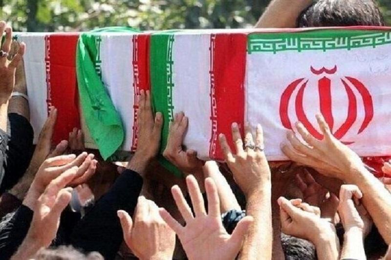 پیکر مطهر شهید سردار صحرایی بدرقه شد