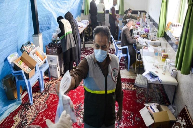 گروههای جهادی به کمک کادر درمان آمدهاند