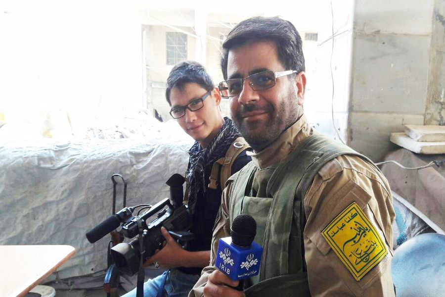 شهید خزایی؛ خبرنگاری همهفنحریف برای مبارزه با داعش