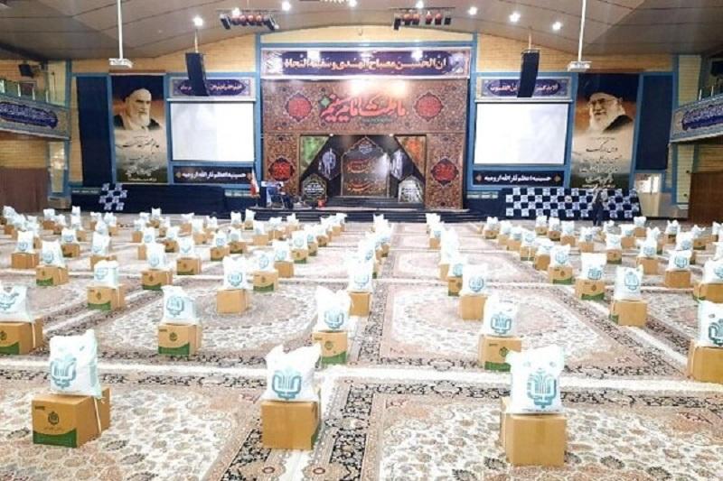 ۱۰هزار بسته معیشتی توسط گروه های جهادی توزیع شد