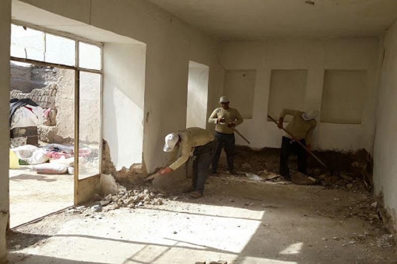 منازل محرومان خوزستان توسط گروههای جهادی تعمیر میشود