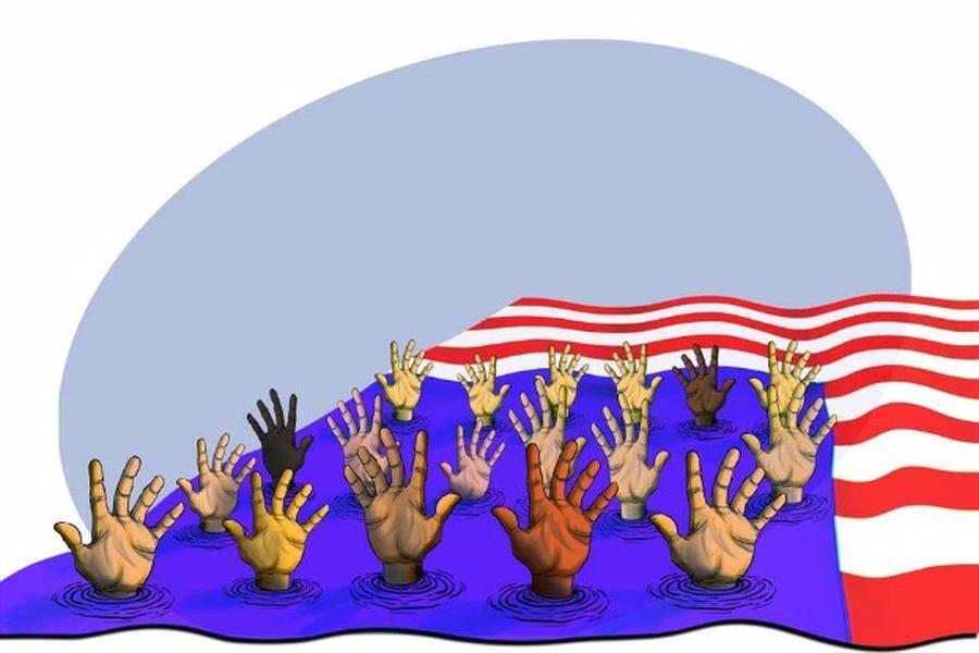 ویدئو/دروغ بزرگ دموکراسی امریکایی