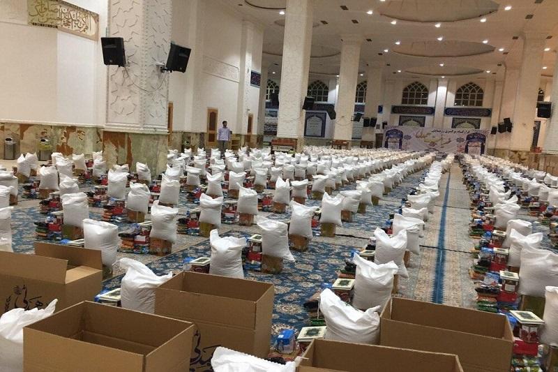 ۱۰۰۰ بسته کمک معیشتی در میان نیازمندان فومنی توزیع می شود