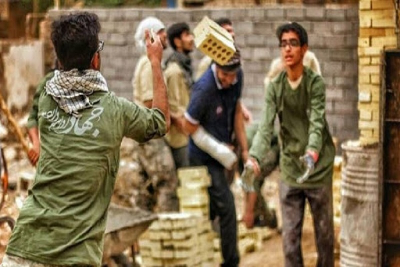 گروههای جهادی، برای رفع مشکلات مردم وارد میدان شدهاند