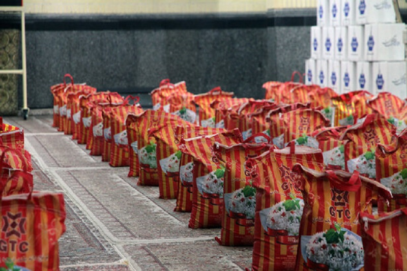 توزیع ۱۵ هزار بسته معیشتی در قالب اجرای طرح شهید سلیمانی در فارس