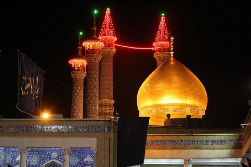 برگزاری آیین شمع گردانی در حرم حضرت معصومه(س) بدون حضور مردم