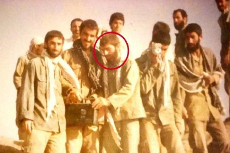 تصویر منتشرنشده از شهید فخریزاده در دوران دفاع مقدس