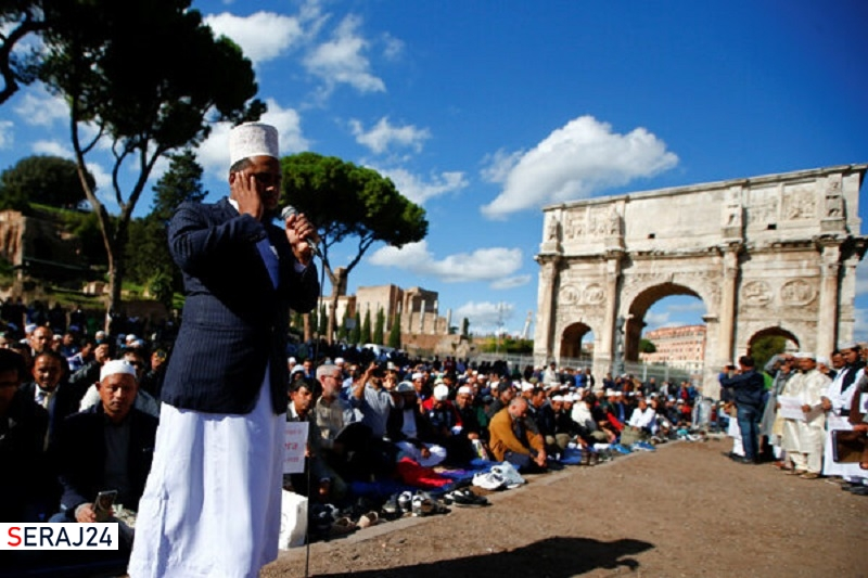 گسترش اسلام در ایتالیا بیش از مناطق دیگر اروپا است