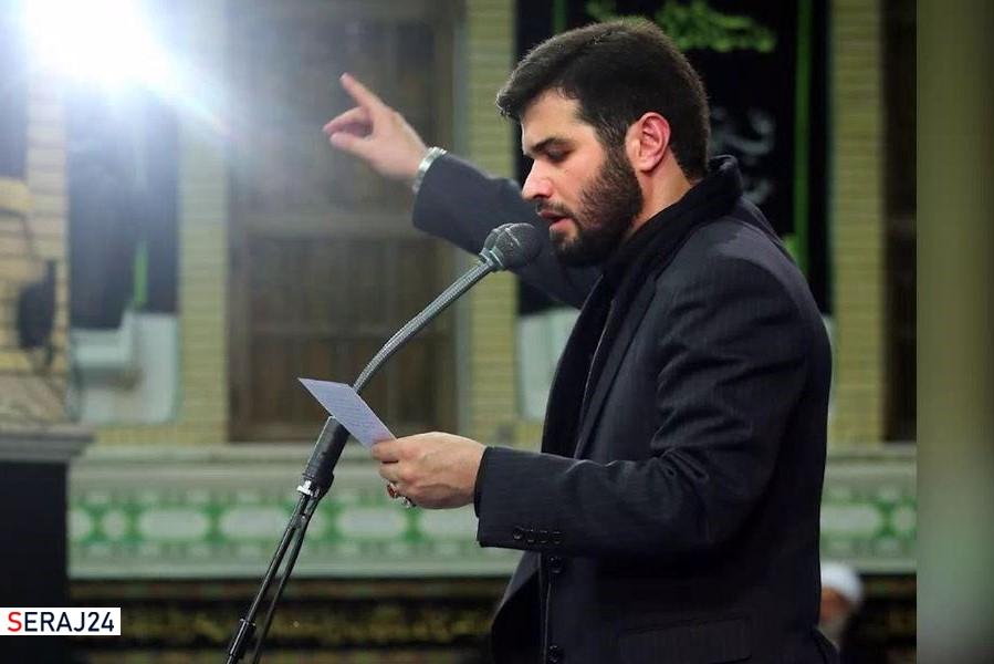 نوحهخوانی میثم مطیعی برای شهید فخریزاده+ویدئو