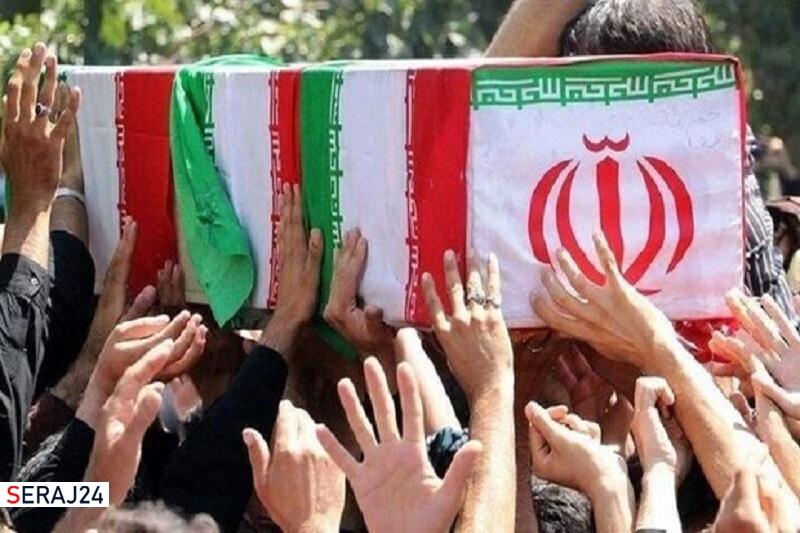 پیکر مطهر سردار شهید «علیرضا رضایی» در چهاردانگه تشییع شد