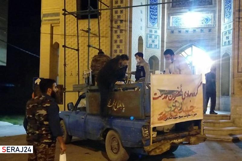 اعزام ۸۴ گروه جهادی به شهرهای درگیر با آبگرفتگی در بندرماهشهر