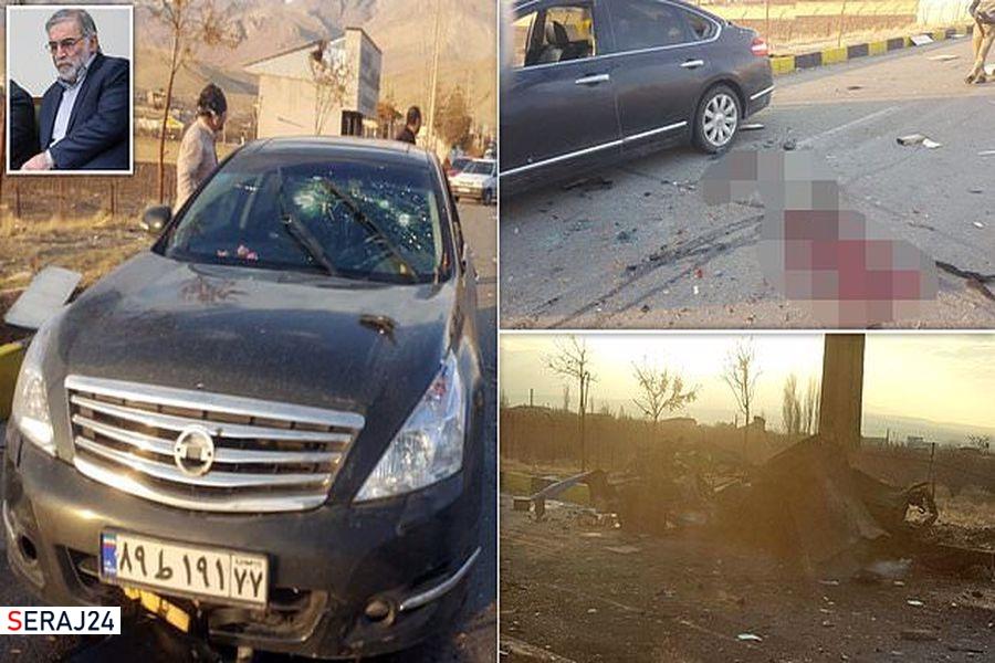 ویدئو/تصاویر هوایی از اعتراض به ترور شهید فخری زاده در شهر برازجان