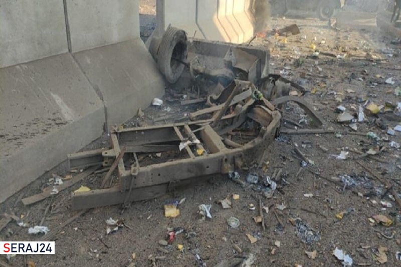 انفجار خودروی بمبگذاری شده در شمال شرق سوریه