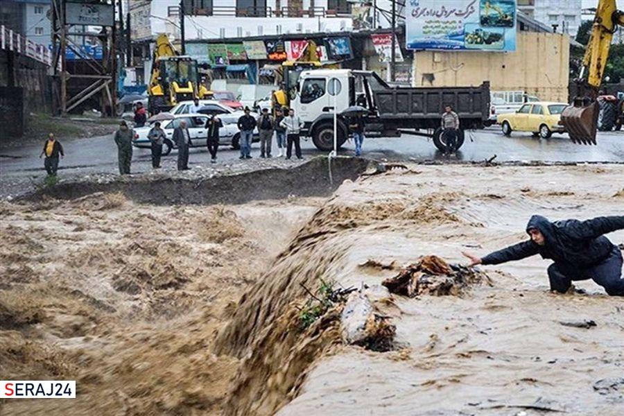 دست یاری مسجدیها به سیلزدگان بوشهری