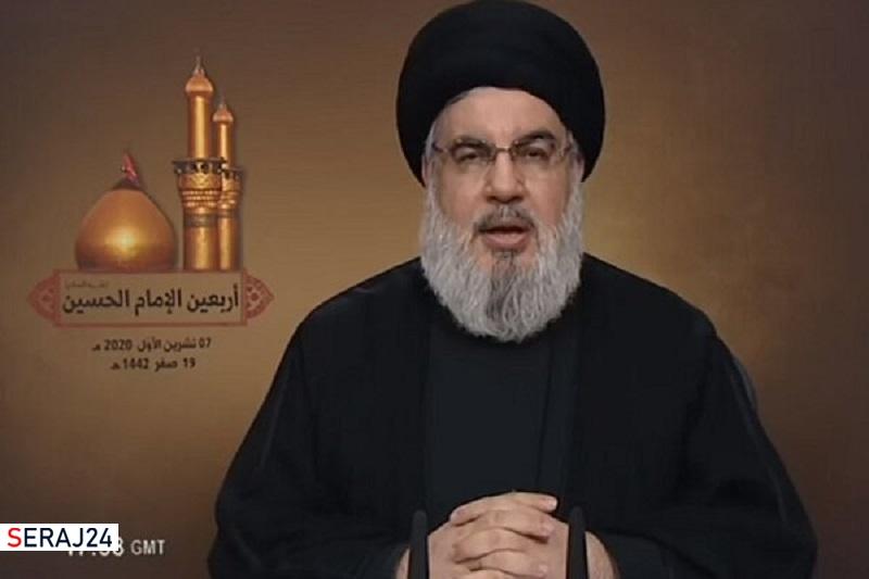 پخش گفتگوی دبیرکل حزب الله لبنان با شبکه خبری المیادین