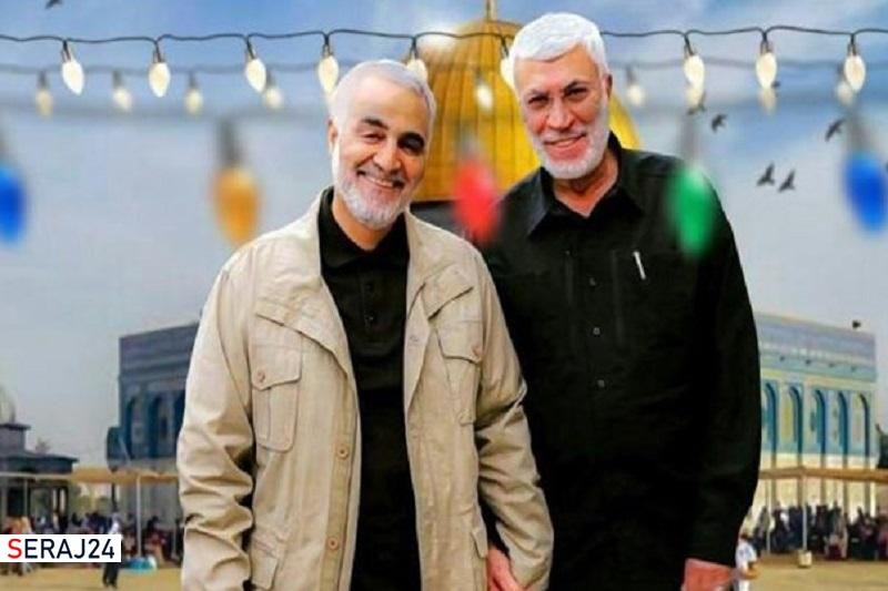 هشتگهای سردار سلیمانی و ابومهدی المهندس در عراق ترند شد