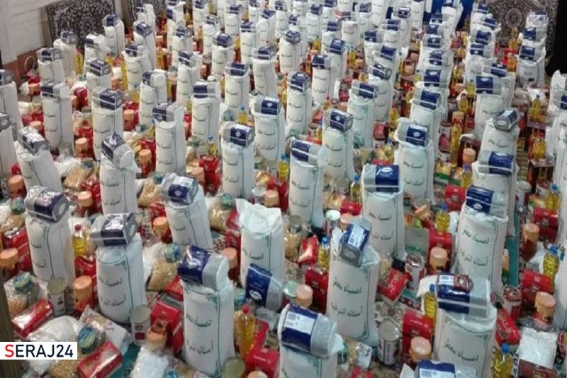 توزیع هزار بسته غذایی میان ایتام در طرح مادرانه
