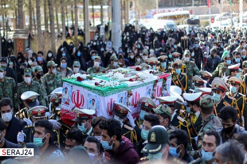 مراسم تشییع ۸ شهید گمنام در مازندران لغو شد