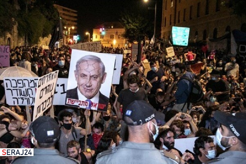 آغاز مجدد اعتراضهای مردمی علیه نتانیاهو در فلسطین اشغالی