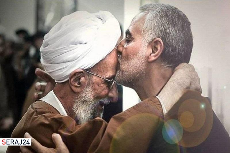 شهید سلیمانی و علامه مصباح(ره) دو الگوی شاخص جبهه انقلاب هستند